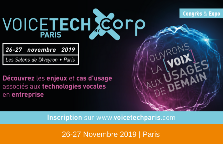 Voice Tech Paris 2019